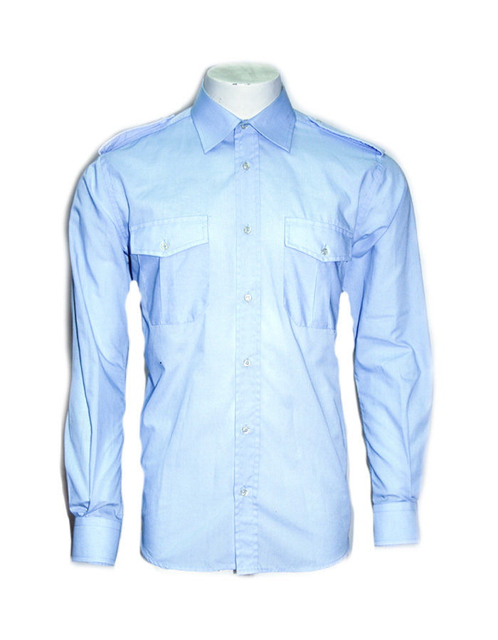 Camicia Scout Celeste