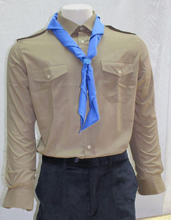 camicia kaki scout