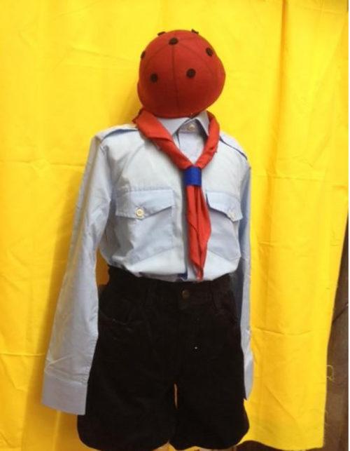Camicia coccinella scout