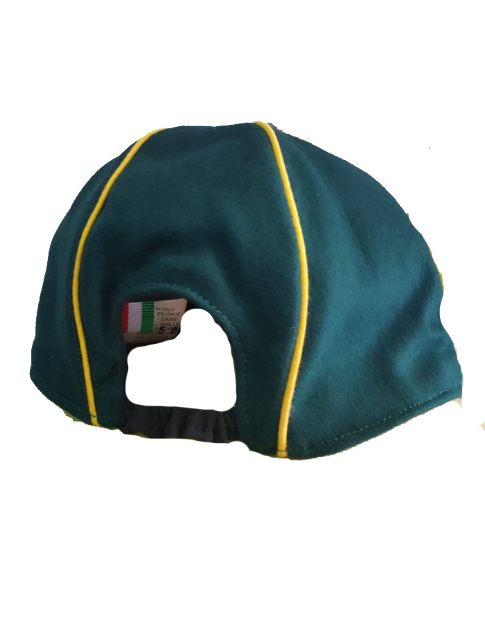 cappellino lupetto scout retro