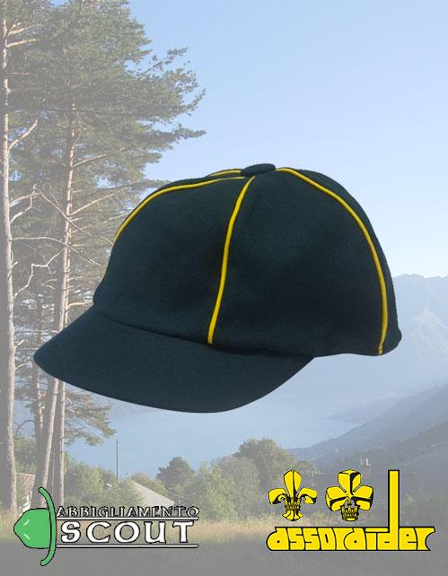 Cappellino scout Assoraider Lupetto per bambini