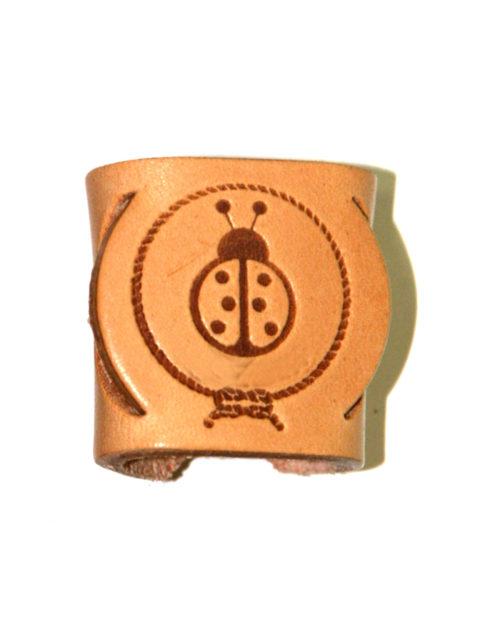 Ferma fazzolettone scout coccinella