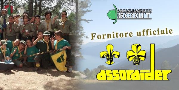 Abbigliamento Scout fornitore ufficiale Assoraider