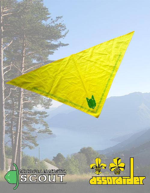 Foulard giallo scout Assoraider