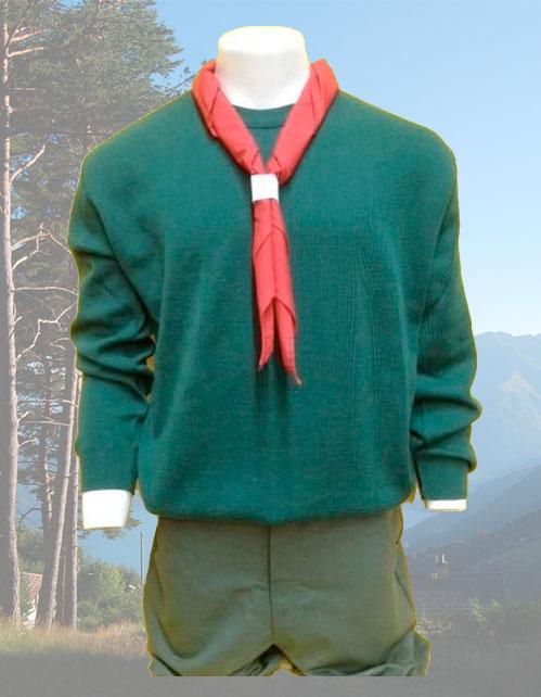 Maglione Scout Verde
