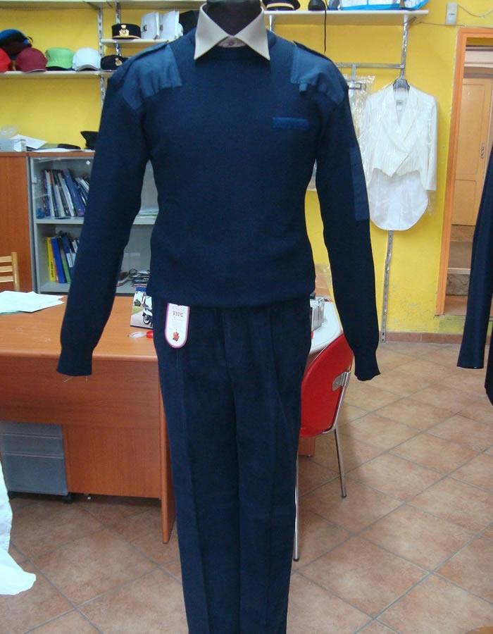 Pantalone Scout Velluto blu