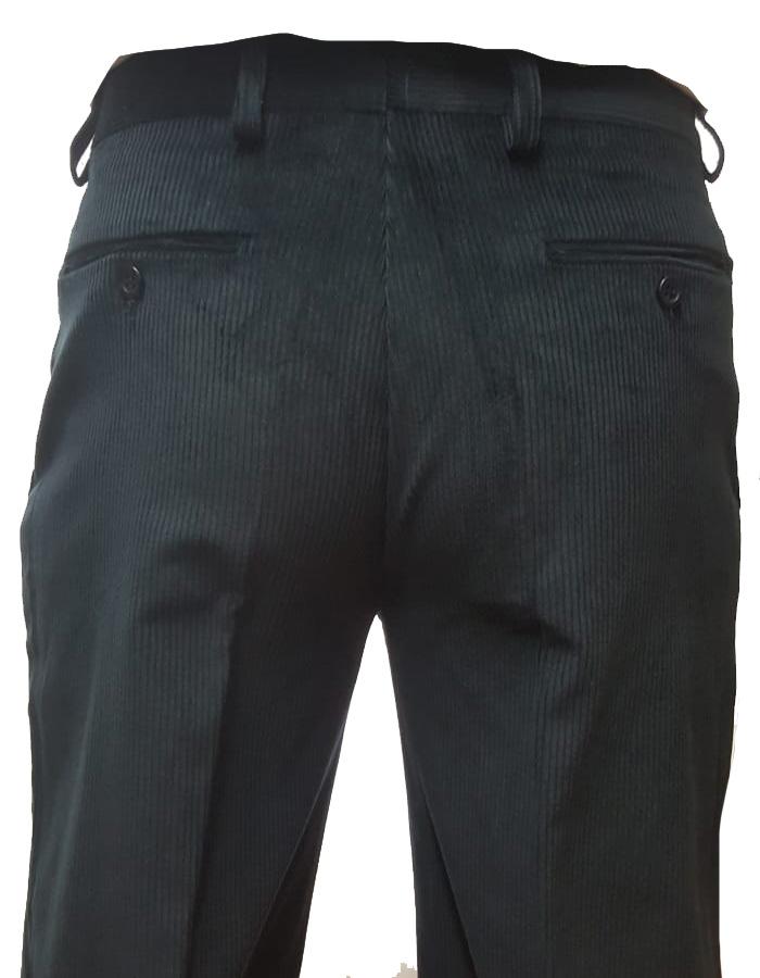 Pantalone lungo scout velluto - dettaglio