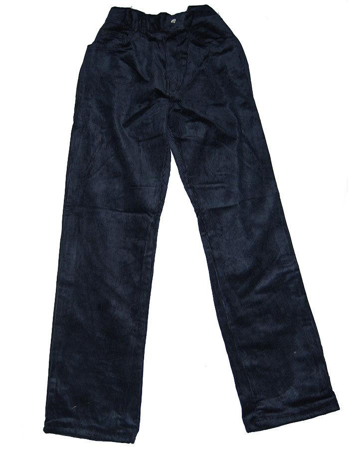 pantalone scout velluto blu bimbo