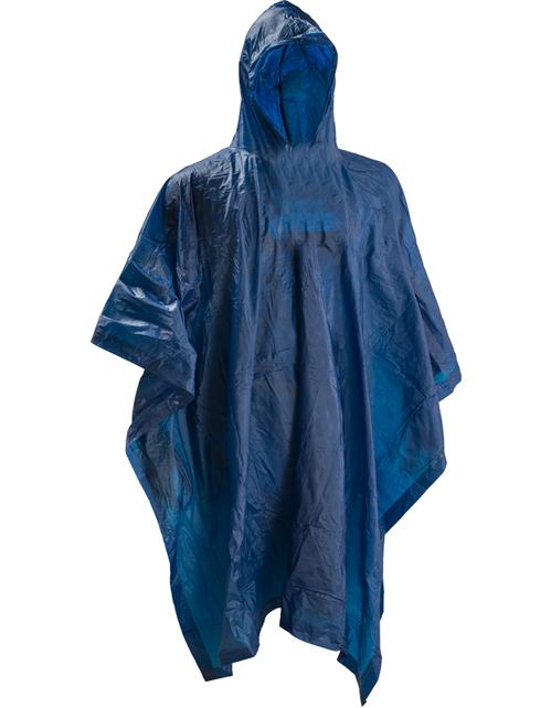 Poncho scout colore blu, dimensioni 54 x 80 cm. Composizione light vinyl. Ideale per proteggersi e ripararsi nelle giornate particolarmente piovose.