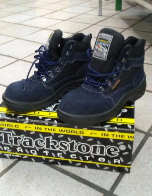 scarpe da trekking blu