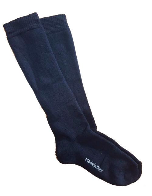 Calzettone Spugna Scout 100% cotone colore blu rinforzato in punta e nel tallone. Disponibile nelle taglie: 32/34 - 35/37 - 38/40